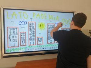 program aktywna tablica w Zespole Szkół nr 16 we Wrocławiu.